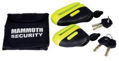 Mammoth Blast Disc Lock 10Mm Pin Yellow 501J
