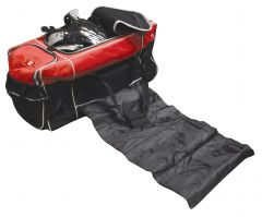 Luggage Kit Bag Black / Red Feature Wheels / Carry Handle