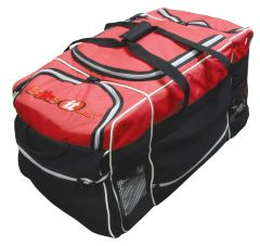 Luggage Midi Kit Bag Black / Red Feature Carry Handle