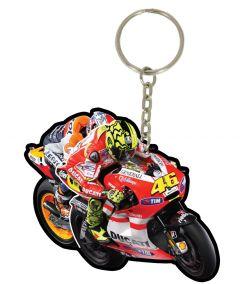 Motogp Pvc Keyfob 2011 Rossi #46 Tuck