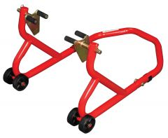 Biketek Front Paddock Stand Series 3- Red With Under-Fork-Adaptors