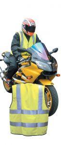 Fluoro Yellow Reflective Bib-Vest Hv0