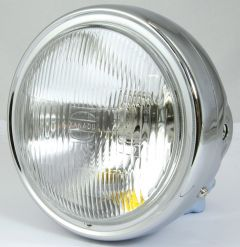 HEADLIGHT HONDA CB900 ALL CHROME H4 12V60/55W T10 12V3W