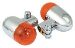 INDICATORS CUSTOM ROUND CLAMP TYPE CHROM (PAIR) 172YG525