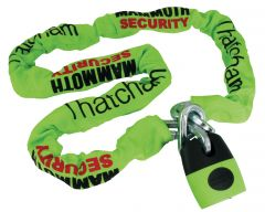 Mammoth Thatcham Square Chain 12Mm X 1.8M With Shackle Lock