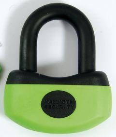Mammoth Thatcham 13Mm Mini U-Disc Lock With Reminder Coil