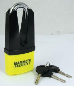 Mammoth Maxi Disc Lock 11Mm Shackle