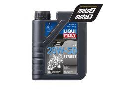 Liqui Moly - Oil 4-Stroke - Mineral - Street - 20W-50 - 1L
