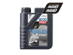 Liqui Moly - Oil 4-Stroke - Semi Synth - Street - 10W-40 - 1L