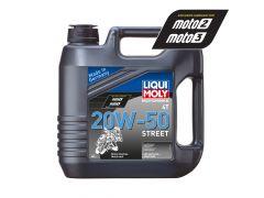 Liqui Moly - Oil 4-Stroke - Mineral - Street - 20W-50 - 4L