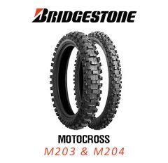 Bridgestone M203 & M204 Motocross Tyres
