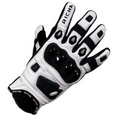 Richa Rock Leather Black/White