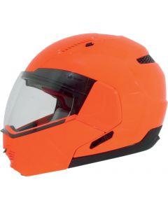 AFX FX-140 Full Face Modular Helmet Solid Gloss Orange