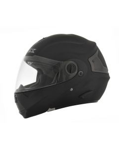 AFX FX-36 Full Face Modular Helmet Solid Flat Black