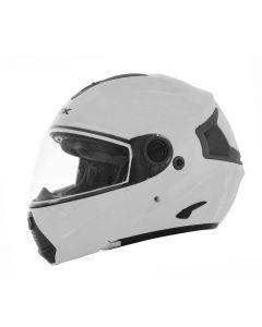AFX FX-36 Full Face Modular Helmet Solid Flat Silver
