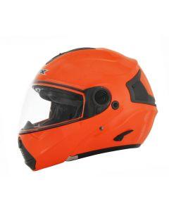 AFX FX-36 Full Face Modular Helmet Solid Flat Orange