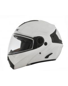AFX FX-36 Full Face Modular Helmet Solid Flat White