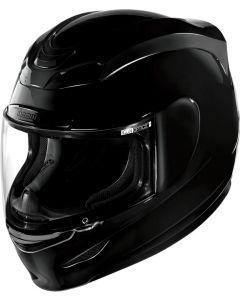 ICON Airmada Full Face Helmet Solid Gloss Black