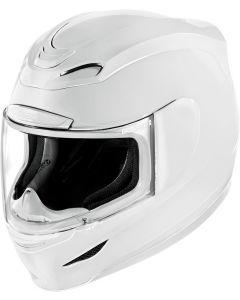 ICON Airmada Full Face Helmet Solid Gloss White