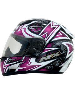 AFX FX-95 Full Face Helmet Mega Gloss Pink/Multi