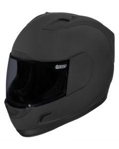 ICON Alliance Full Face Helmet Dark Rubatone Black