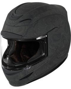 ICON Airmada Full Face Helmet Chantilly Rubatone Black