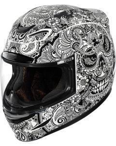ICON Airmada Full Face Helmet Chantilly Gloss White