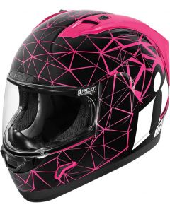 ICON Alliance Full Face Helmet Crysmatic Gloss Pink