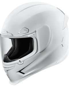 ICON Airframe Pro Full Face Helmet Solid Gloss White