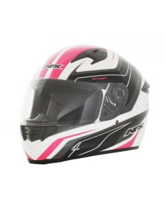 AFX FX-24 Full Face Helmet Stinger Gloss Pink