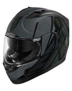 ICON Alliance GT Full Face Helmet Primary Gloss Black/Gray/Dark Olive