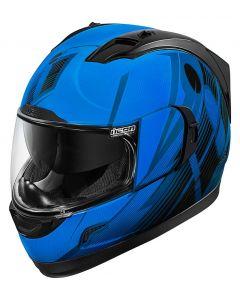 ICON Alliance GT Full Face Helmet Primary Gloss Blue/Black