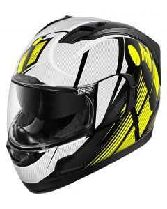 ICON Alliance GT Full Face Helmet Primary Gloss Hi-Viz Yellow/Black