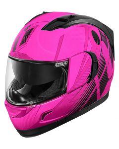 ICON Alliance GT Full Face Helmet Primary Gloss Pink/Black
