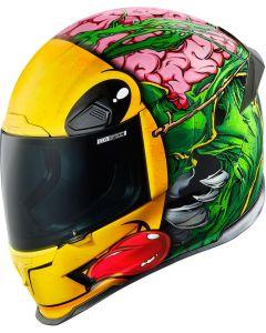 ICON Airframe Pro Full Face Helmet Brozak Gloss Green/Yellow