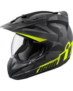 ICON Variant Full Face Helmet Deployed Matte Black