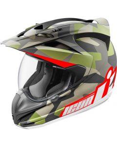 ICON Variant Full Face Helmet Deployed Matte Camo
