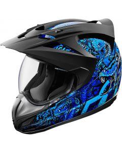 ICON Variant Full Face Helmet Cottonmouth Gloss Blue