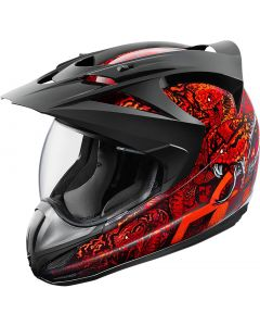 ICON Variant Full Face Helmet Cottonmouth Gloss Red