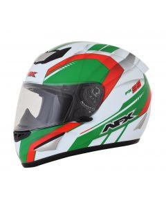 AFX FX-95 Street Helmet Airstrike LE Gloss White/Green/Red