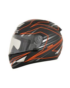 AFX FX-95 Street Helmet Mainline Gloss Gray/Orange