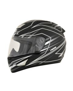 AFX FX-95 Street Helmet Mainline Gloss gray/white
