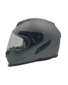 AFX FX-105 Street Helmet Solid Gloss Frost Gray