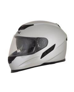 AFX FX-105 Street Helmet Solid Gloss Silver