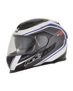 AFX FX-105 Street Helmet Thunderchief Gloss Black/White/Blue