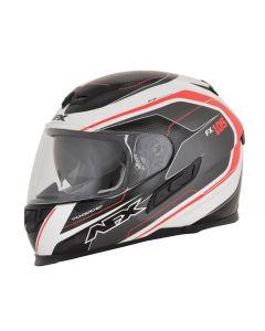 AFX FX-105 Street Helmet Thunderchief Gloss Black/White/Red