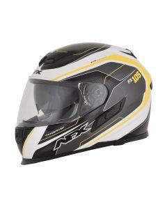 AFX FX-105 Street Helmet Thunderchief Gloss Black/White/Yellow
