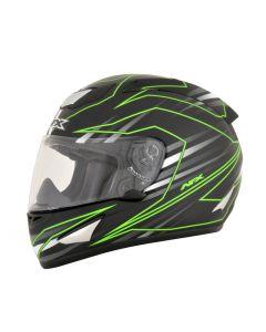 AFX FX-95 Street Helmet Mainline Gloss Gray/Green