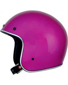 AFX FX-76 Open Face Helmet Solid Gloss Pink