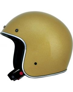 AFX FX-76 Open Face Helmet Solid Metal Flake Gold